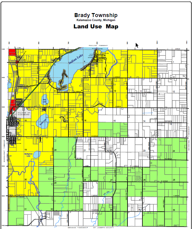 Township Maps Brady Township